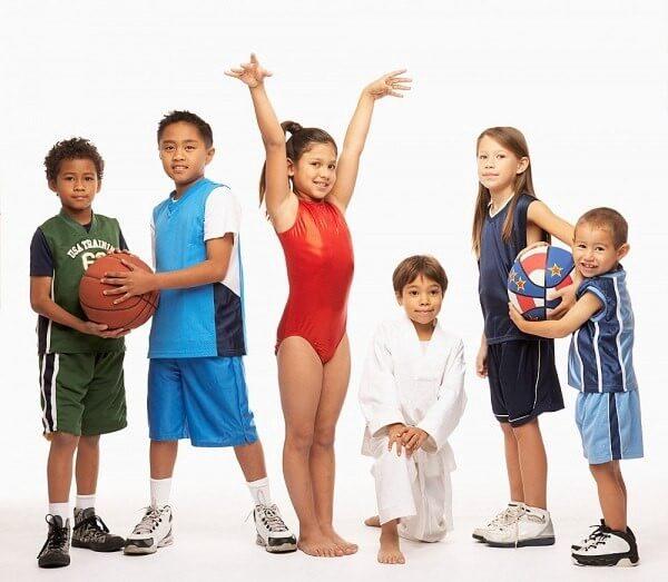 Картинки спортсменов по росту для детей