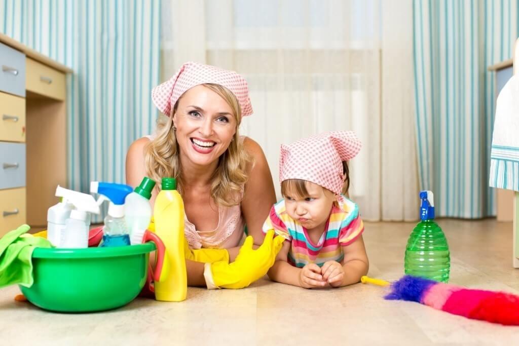 Картинки с уборкой дома детские